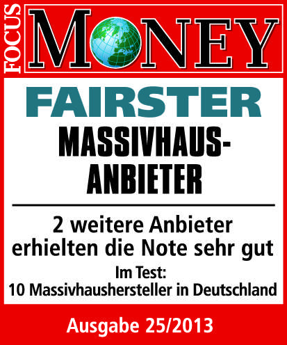 Fairster Massivhausanbieter Focus Money